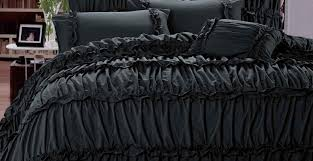 bedding set grey ruched bedding charming grey silver bedding