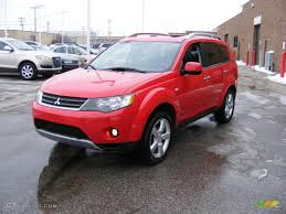 red mitsubishi outlander phoenix red 2007 mitsubishi outlander xls exterior photo 41813787