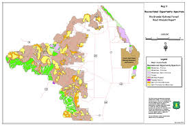 Land Ownership Map Rio Grande National Forest Projects