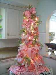 Shabby Chic Christmas Tree by 360 Best Pink Christmas Images On Pinterest Christmas Ideas