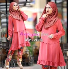 Baju Muslim Dewasa Ukuran Kecil 80 model terbaru baju muslim untuk wanita kurus modis dan trendy