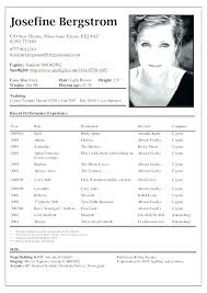 acting resume templates free acting resume template theatre word create actor