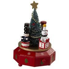 wind up christmas tree music box the christmas loft