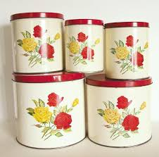 vintage kitchen canisters 28 vintage style kitchen canisters retro mid century