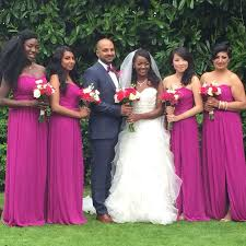 davids bridesmaid dresses raspberry bridesmaids dresses from david s bridal jungah