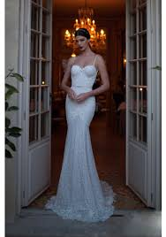 spaghetti wedding dress spaghetti lace backless trumpet mermaid wedding dress abb0009