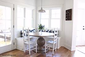 built in breakfast nooks ten june a farmhouse buffalo check built