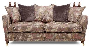 Pillow Back Sofa Slipcover by Morris 4 Seater Pattern Pillow Back Sofa Dfs