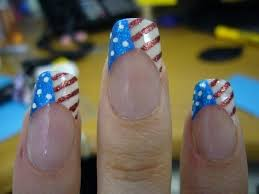 166 best fourth of july nail art images on pinterest nail art