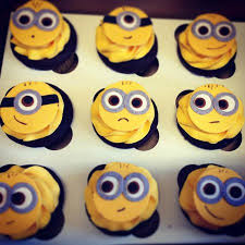 edible minions minion edible fondant cupcake toppers picture of sweet