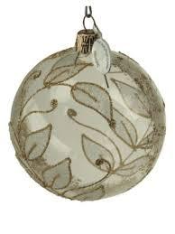 White Christmas Ball Ornaments Australia by Home Holiday Ornaments Saks Com