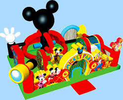 mickey mouse clubhouse bounce house mickey mouse toddler learning town party rental ca