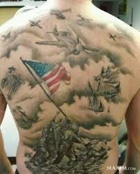 30 bad marine corps tattoos temporary