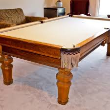 pool tables lexington ky golden oak brunswick pool table and accessories ebth