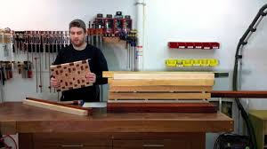 end grain butcher block countertop youtube