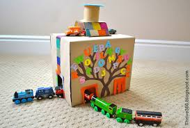 18 cardboard box crafts to make kids cardboard box ideas