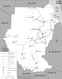 Map Of Sudan Map Sudanation