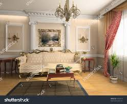 Modern And Classic Interior Design Modern Classic Interior Design Private Apartment Stock