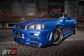 paul walker blue porsche paul walker u0027s nissan skyline gt r front photo blue color size