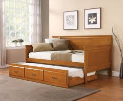 Daybeds With Trundles Daybed With Trundle Oak U2013 Jennifer Furniture