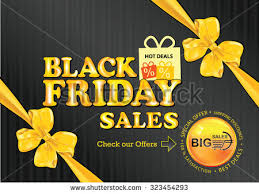best used deals black friday black friday sale advertising poster print stock vector 227315896