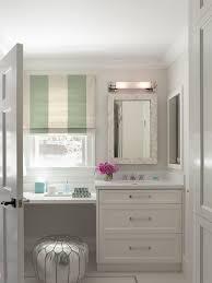Bathroom Vanity Makeup Floating Makeup Vanity Contemporary Bathroom Lowengart