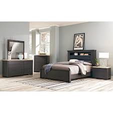 7 piece bedroom set king camino 7 piece king bedroom set charcoal and ivory value city