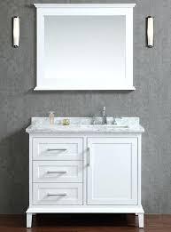 36 vessel sink vanity 36 inch vanity with sink bathroom vanity white right offset sink 36