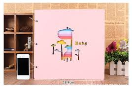 Diy Scrapbook Album 16 Inch Pink Blue Diy Polaroid Photo Album Wedding Photos Baby