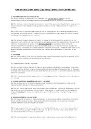 Business Debit Card Agreement Greenfield Domestic Cleaning Terms And Conditions