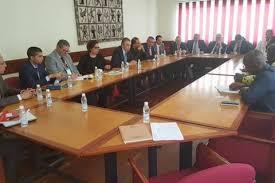 chambre de commerce tunisie réunion de la délégation tunisienne à la chambre de commerce et d