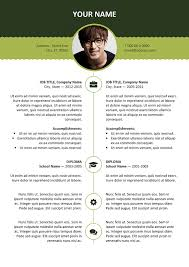 free modern resume designs and layouts esquilino free resume template microsoft word green layout
