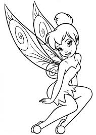 draw tinkerbell coloring pages 34 download coloring pages