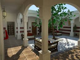 house with courtyard traditional libyan courtyard house by nadabenghazi on deviantart
