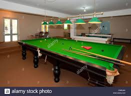 full size snooker table snooker table stock photos snooker table stock images alamy