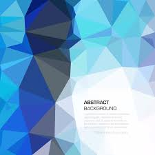 blue polygonal pattern background illustrator 123freevectors