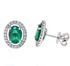 emerald earrings emerald earrings b20057 diamonds and pearls perth