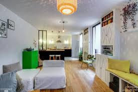 sejour avec cuisine ouverte rénovation d 039 un rez de chaussée avec cuisine ouverte sur le