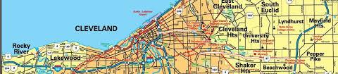 map of cleveland city of cleveland economic development area maps