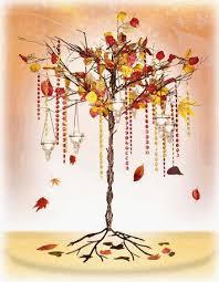 Fall Tree Decorations Fall Tree Leaves Theme Weddingbee