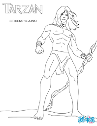 Free Printable Coloring Tarzan Coloring Pages 90 Additional