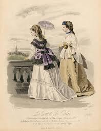 bureau de style mode la toilette de 1869 1869s fashion plates