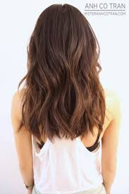 cute shoulder length haircuts longer in front and shorter in back best 25 medium length layered hairstyles ideas on pinterest