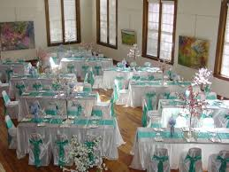 Mint Chair Sashes Wedding Packages