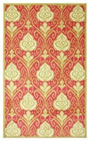 Modern Rugs Reviews Mohawk New Wave Ikat Pink Rug Reviews Houzz