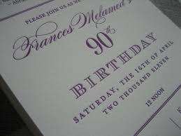 90th birthday party invitations party invitations templates