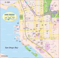 San Diego City Council District Map by Map Defining Major Districts Of San Diego San Diego Maps