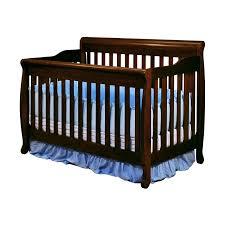 Cheap White Nursery Furniture Sets by Athena Alice 3 In 1 Convertible Crib Espresso Walmart Com