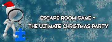 escape room game christmas party christmas party with a difference