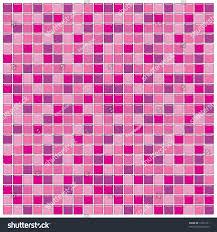 bathroom wall purple pink glass mosaic stock illustration 12355171